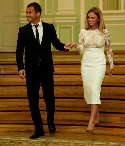 Александр Кержаков женился во второй раз