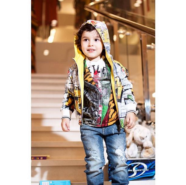 Анфиса Чехова отметила трехлетие сына