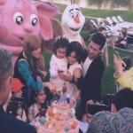 Ани Лорак и Мурат впервые показали лицо своей дочери