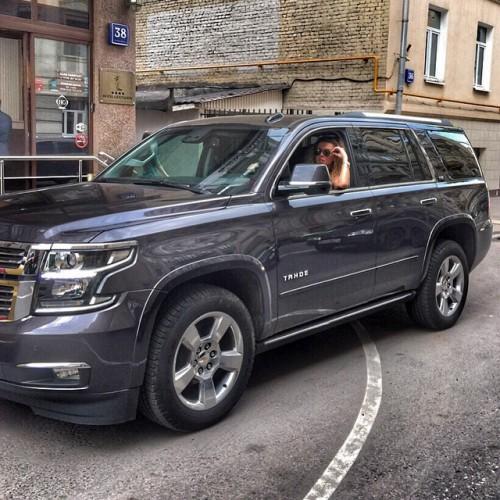 Анна Седокова показала свою новую машину
