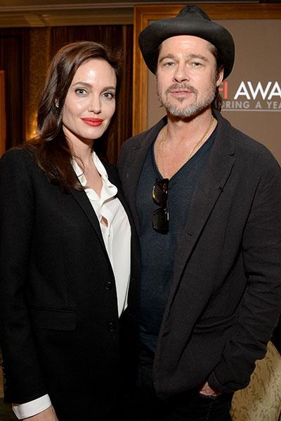 Голливудская пара Анджелина Джоли и Брэд Питт погостила в Кенсингтонском дворце