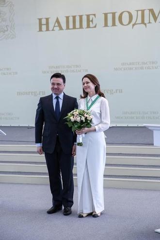 Ирина Безрукова награждена орденом Сергея Радонежского