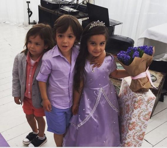 Ксения Бородина устроила сказочную вечеринку на день рождения дочери