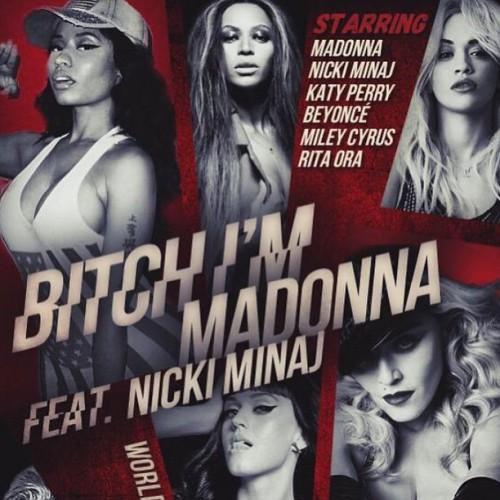 Мадонна показала тизер клипа с участием суперзвезд