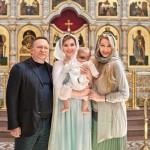 Мария Кожевникова крестила сына