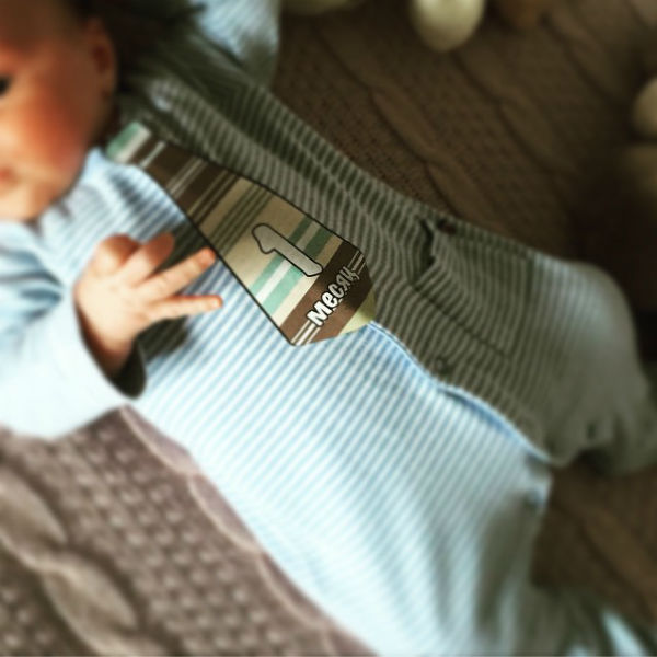 Младшему сыну Дибровых исполнился месяц1