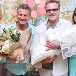 Наталья Подольская и Владимир Пресняков выписались из роддома