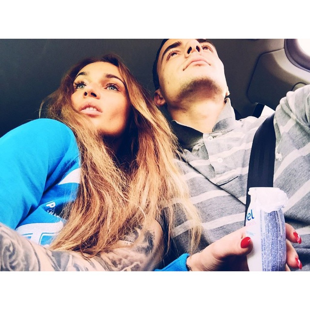 Общее фото Алены Водонаевой с новым возлюбленным