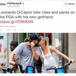 Первый страстный поцелуй на людях Леонардо ДиКаприо и Келли Рорбах