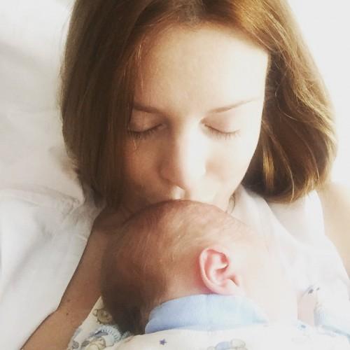 Пресняков и Подольская дали имя своему малышу