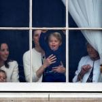 Принц Джорд развеселил гостей на дне рождения королевы Елизаветы II