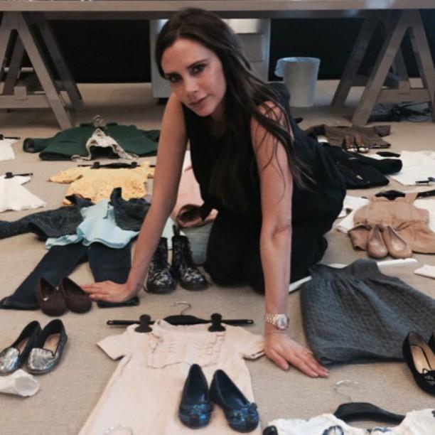 Виктория Бекхэм продает одежду 3-летней дочери
