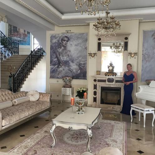 Анастасии Волочковой новый возлюбленный помог сделать ремонт