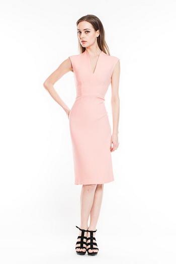 Какую обувь одеть под розовое платье