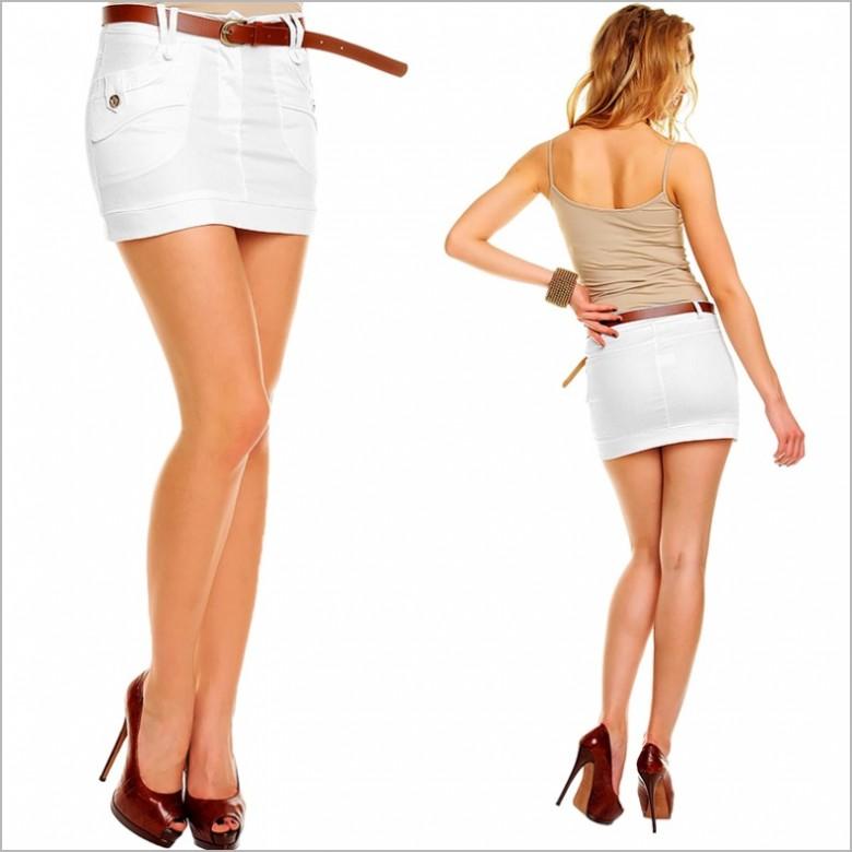 Красивые ноги в юбке #13