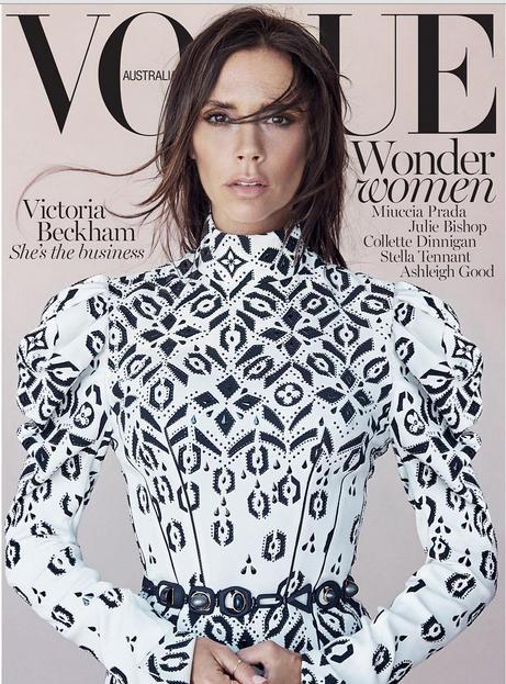 """Виктория Бекхэм украсила собой обложку """"Vogue"""""""