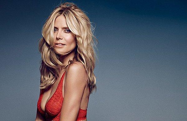 Хайди Клум снялась в рекламе собственного бренда нижнего белья
