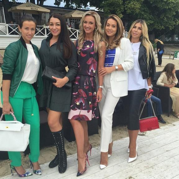 Инна Жиркова провела первый показ своей фирменной коллекции одежды3