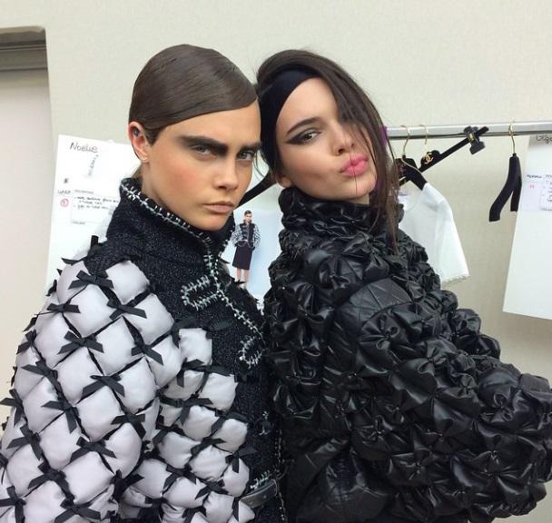 Кара Делевинь и Кендалл Дженнер будут героями ТВ-шоу?