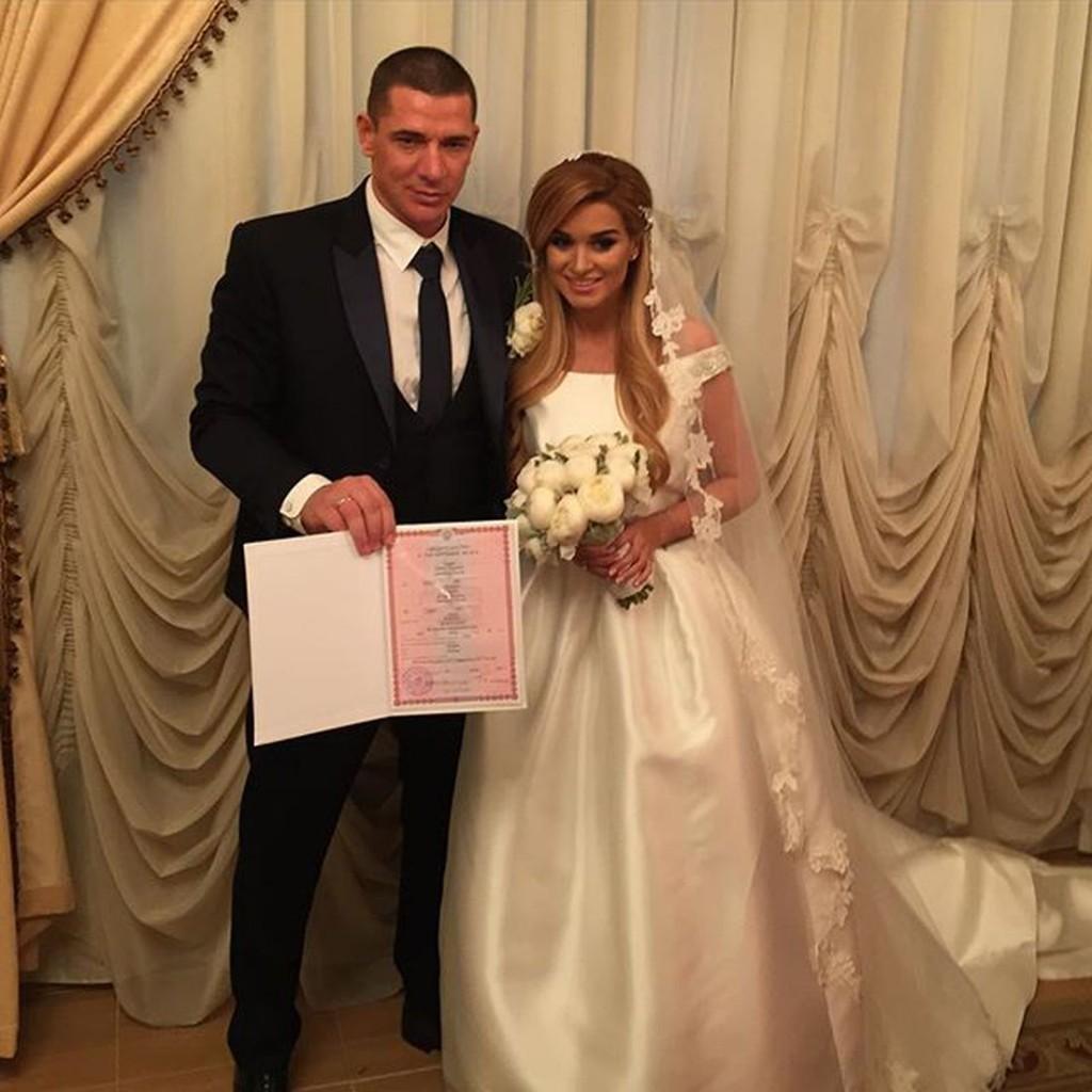 Ксения Бородина вышла замуж6