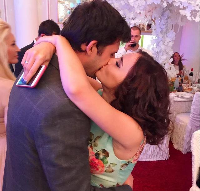 Маргарита Агибалова и Павел Марсо отметили третью годовщину свадьбы1