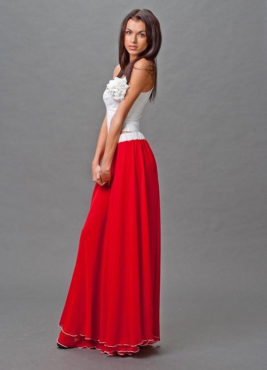 Красивая карандаш длинные юбки платья фото