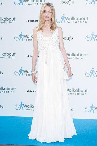 Наталья Водянова посетила благотворительный гала-ужин в Лондоне