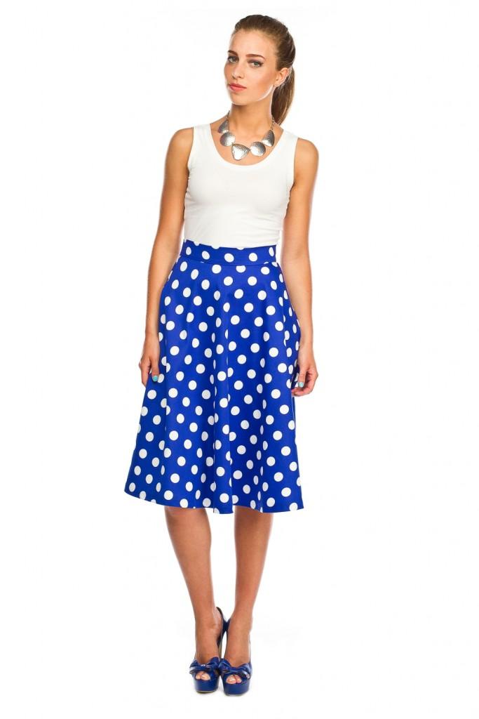 глория джинс синяя юбка