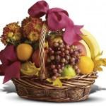 Доставка подарка - корзины с фруктами