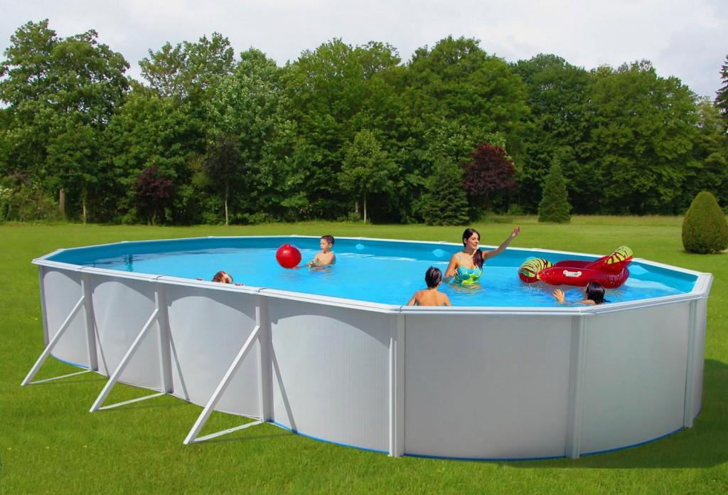 Выбор бассейна для дачи