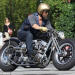 Брэд Питт купил мотоцикл за 250000 £