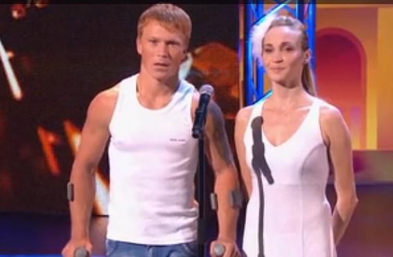 Евгений Смирнов и Дарья Смирнова. Танцы на ТНТ