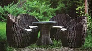Мебель из искусственного ротанга: основные преимущества