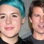 Приёмная дочь Тома Круза и Николь Кидман скрыла свою беременность