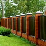 Заборы. Виды заборов для загородных домов