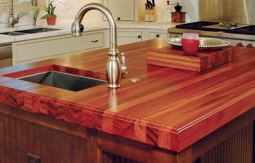Что стоит знать о деревянных кухонных столешницах