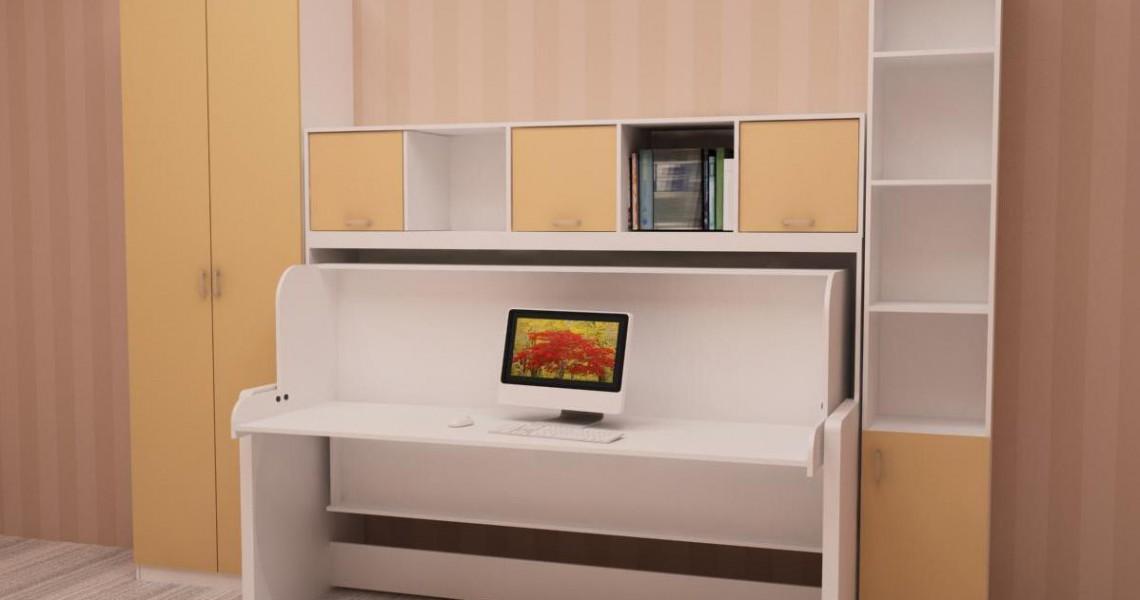 Стол-кровать - отличное решение для детской