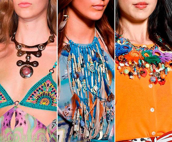 Самые модные аксессуары и украшения весна-лето 2016
