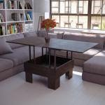 Складной стол поможет сэкономить площадь и средства