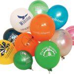 Оригинальная реклама на воздушных шариках