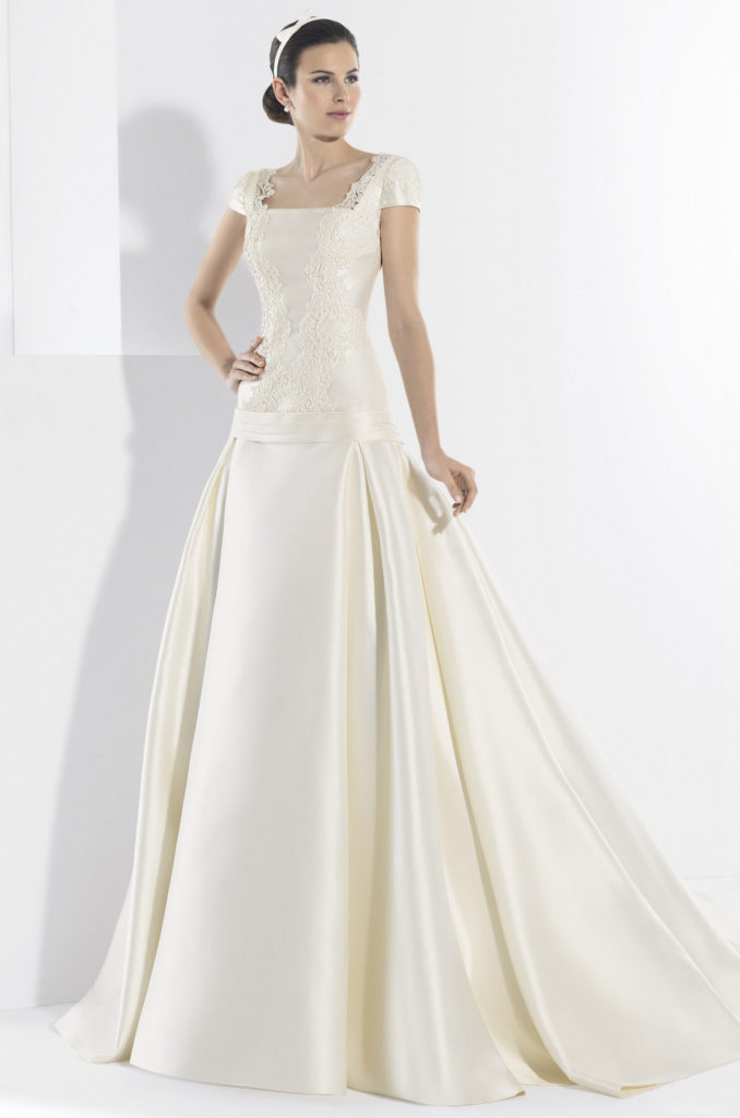 Материалы для свадебных платьев