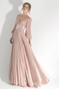 Современные длинные вечерние платья