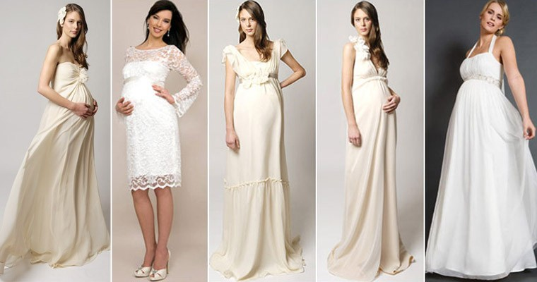 какое платье одеть на роспись беременной зимой что обратить внимание