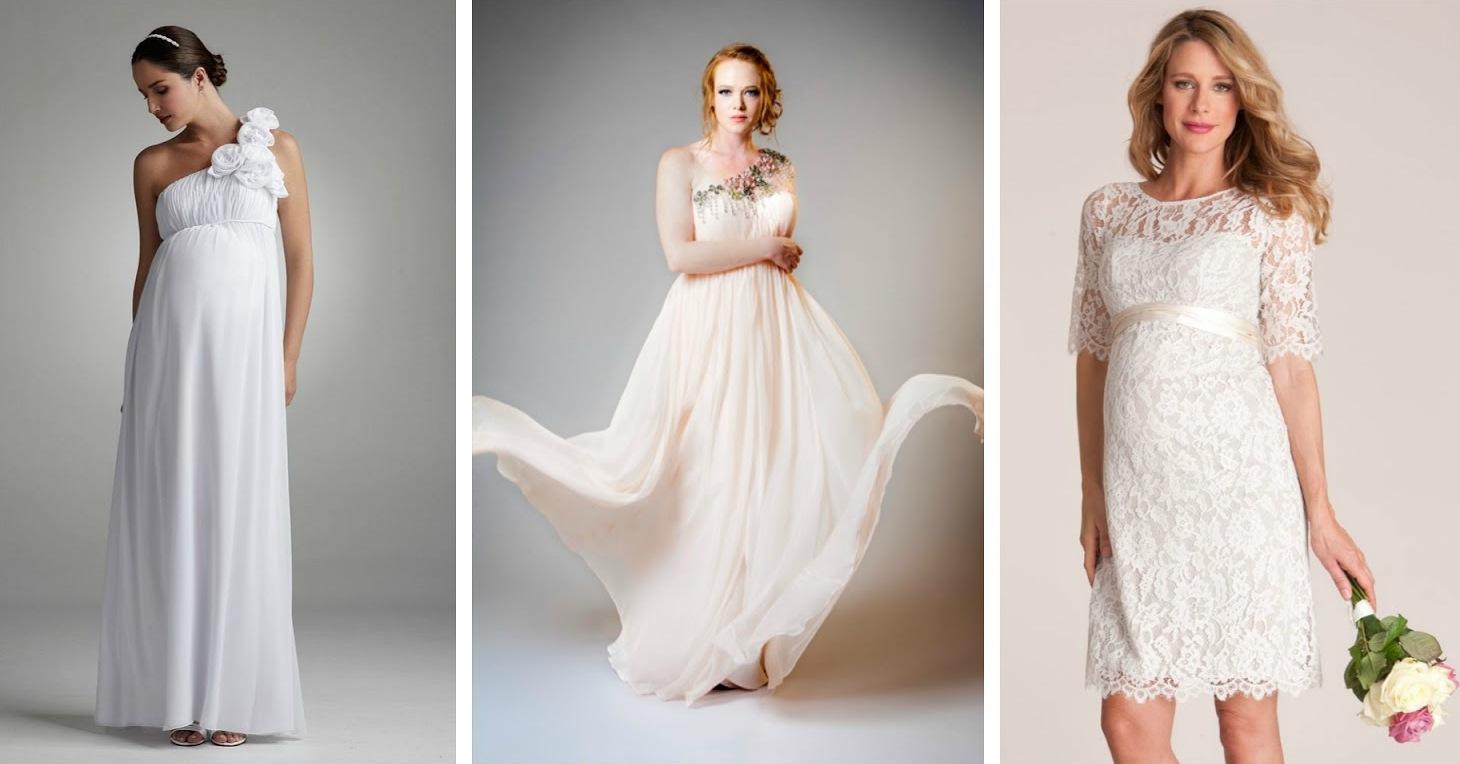 Платье свадебное для беременной