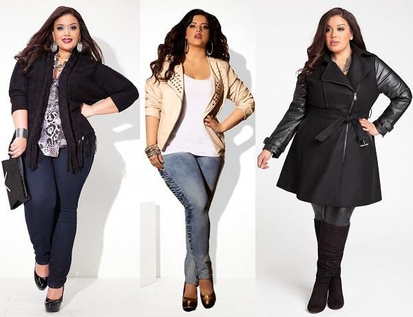 как полным дамам выбирать одежду