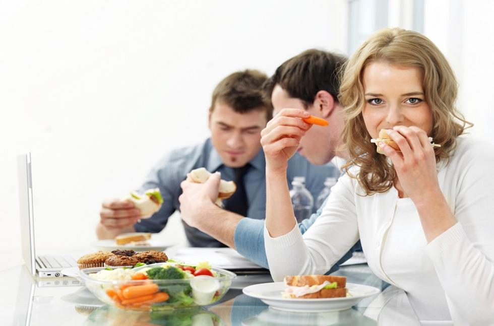 Преимущество доставки обедов в офис