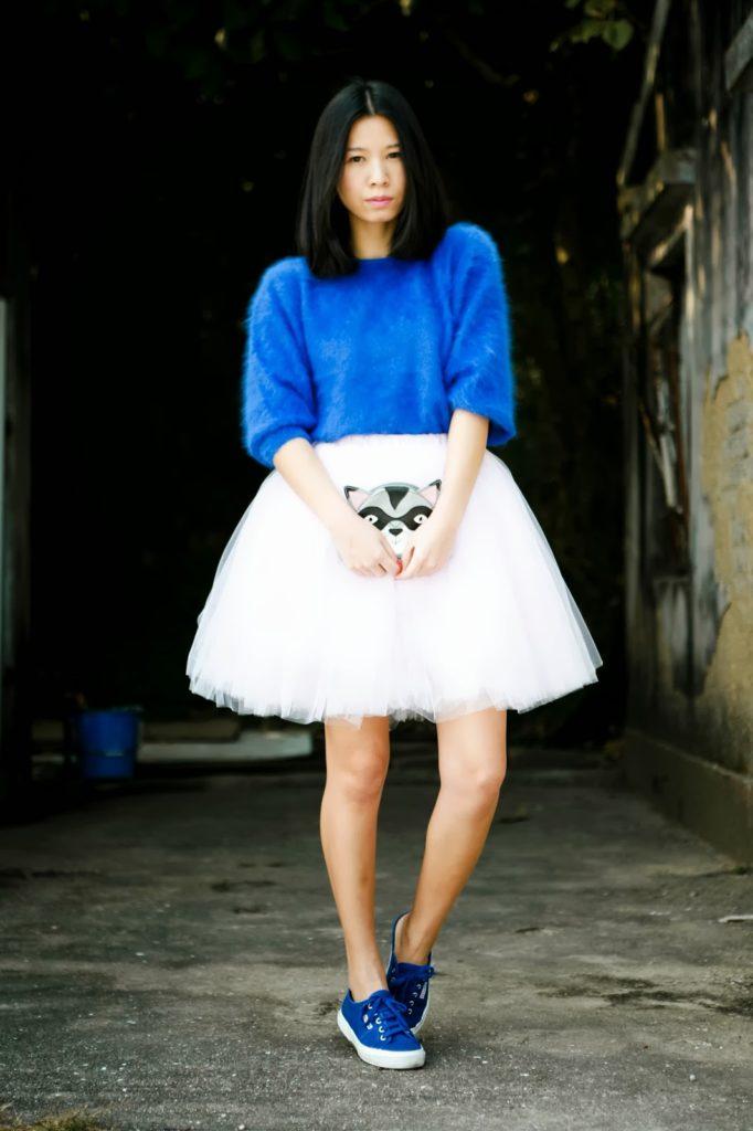 С чем носить женские кеды? Советы и фото