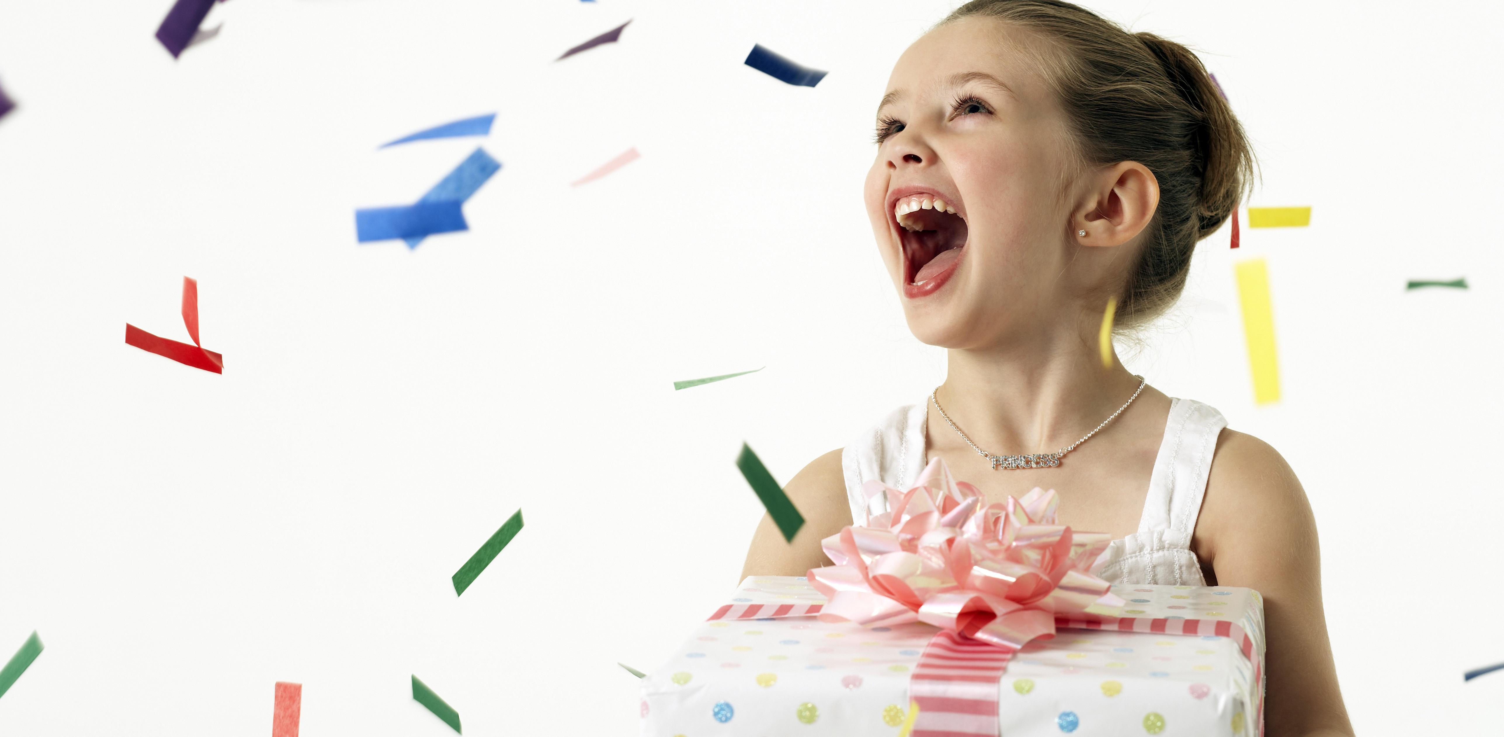 Реакция родителей на подарки
