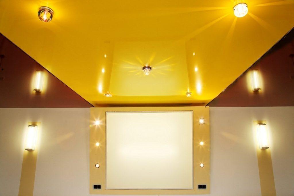 Натяжные потолки: современный взгляд