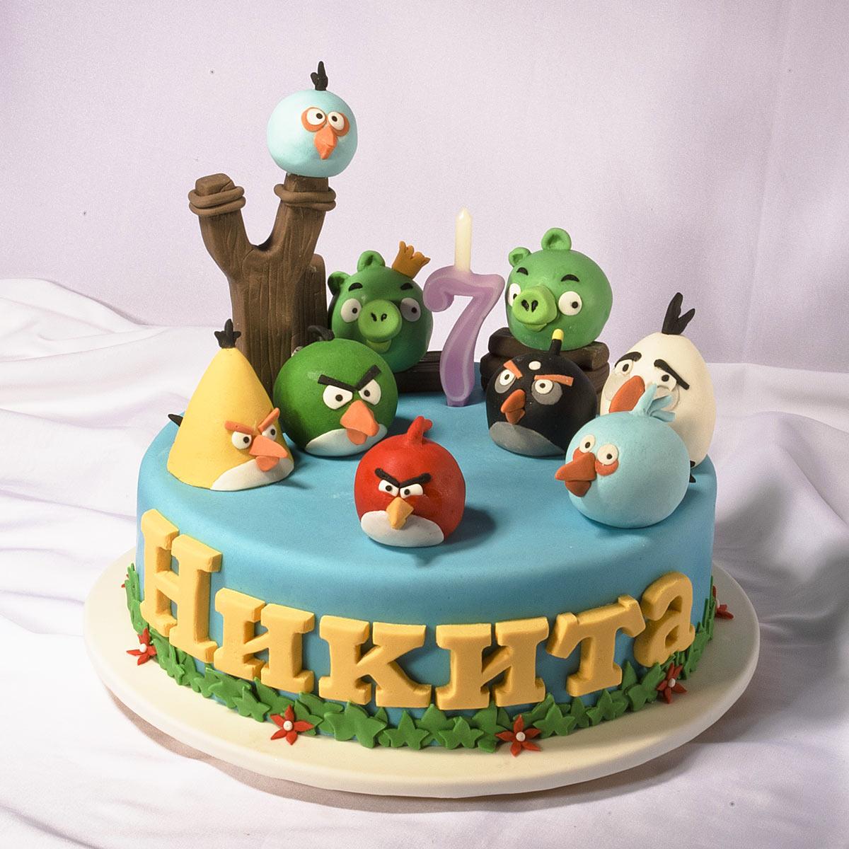 Детские тортыы на день рождения с фото иами